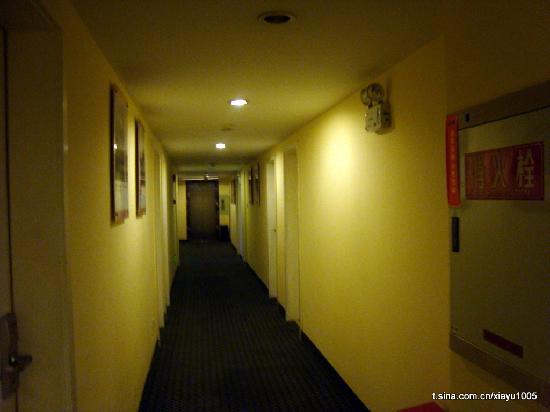 Hanting Express Chengdu Wuhou: 酒店走廊