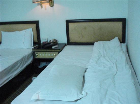 Nanjing Haodong Hotel : 被我们睡过的床