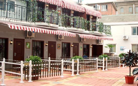 Riyueming Hotel (Songyun): 别致的花园