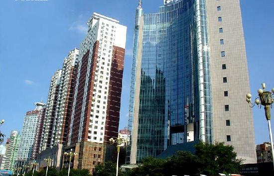 Jin Lun Hotel Lanzhou: 酒店外景