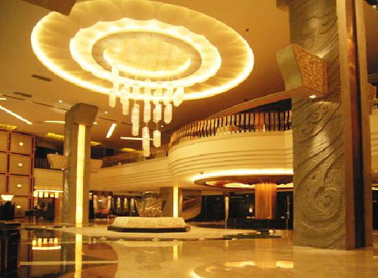Siyuan Hotel: 大厅开灯了