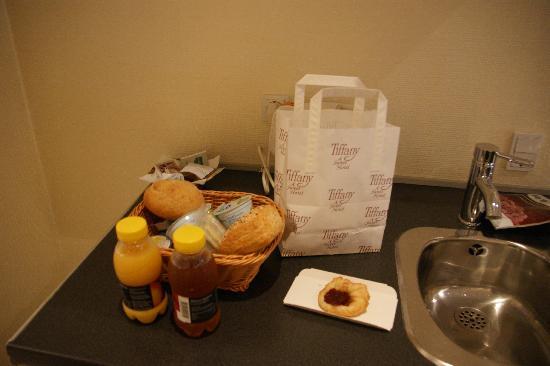 Hotel Tiffany: 早餐