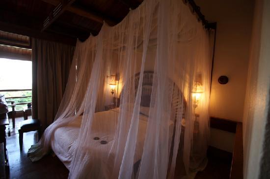 Lake Manyara National Park, Tanzanya: 房间的床还不错