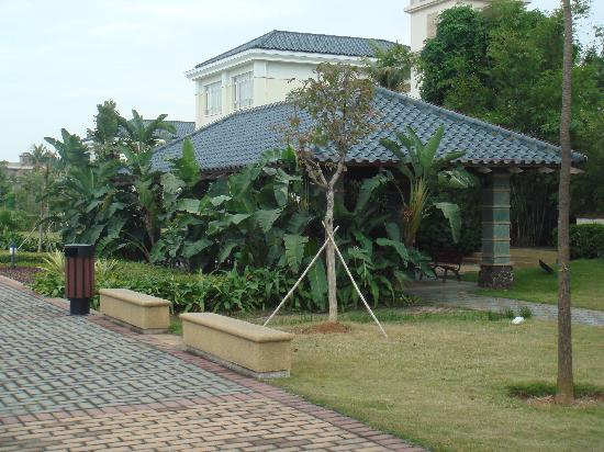 Grand View Hotel : 酒店花园