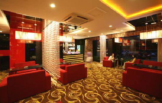 Xi'erdun Rome Holiday Hotel: 餐厅