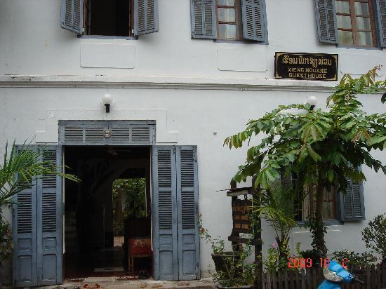 Xieng Mouane Guest House: 大门
