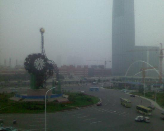 Xinlong Hotel: 透过房间可以看到景色