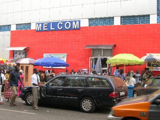 Kumasi, Ghana: Melcom