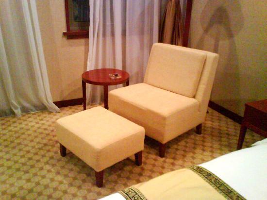 San Teh Hotel: 舒服的沙发