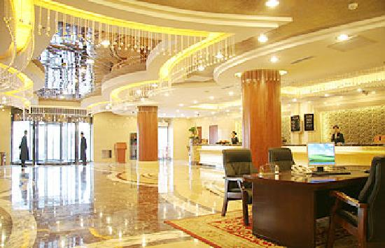 Inner Mongolia International Hotel : 漂亮的大堂