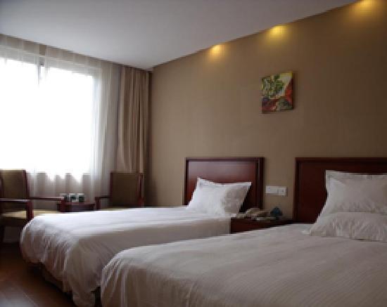 GreenTree Inn Shanghai Songjiang Xincheng Business Hotel: 以前去住过的标间