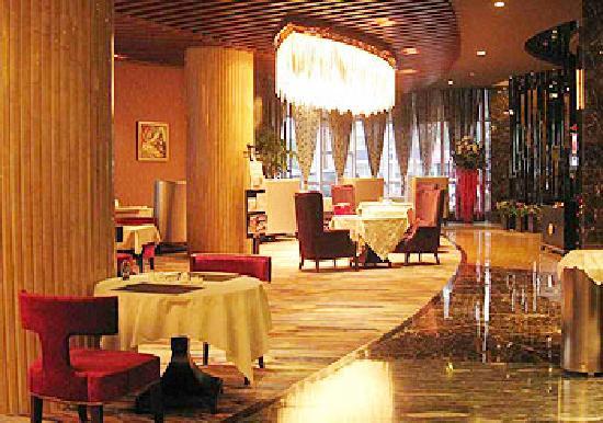 Pacific Prince International Hotel : 一层西餐厅