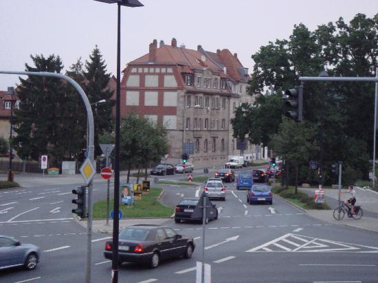 Hotel Am Forum: 窗外风景