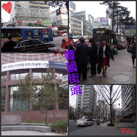 The Westin Chosun Seoul : 酒店附近的环境