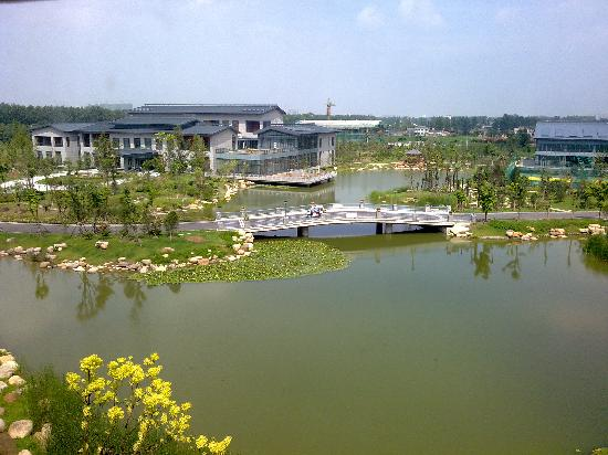 Yancheng Yingbin Hotel: 从房间看出去景色不错