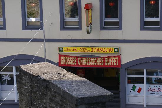 Weilburg, Germany: 酒店附近的中餐馆