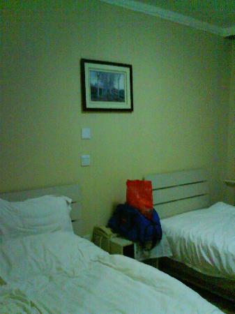Longhe Hotel: 床