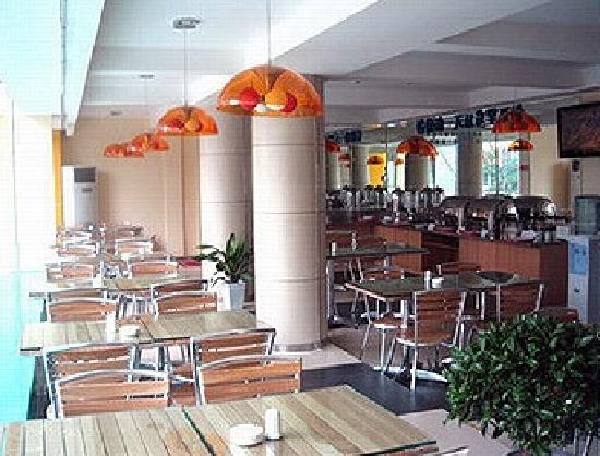 City Comfort Inn Guilin Railway Station: 免费的干净营养早餐厅