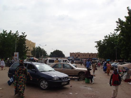 Bamako Artisan Market: 市场外景(1)