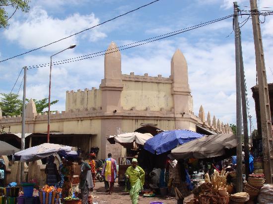 Bamako Artisan Market: 市场外景(2)