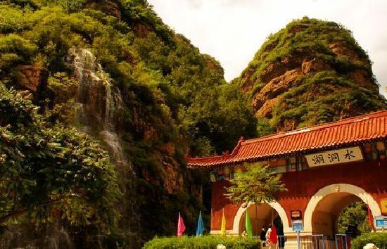 平谷湖洞水景区