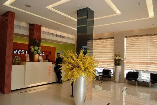 Rest Motel (Wenzhou Nanpu) : 大堂