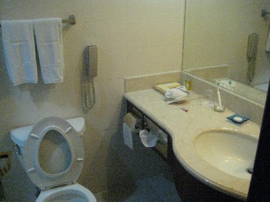 Shanghai Hotel: 卫生间也很一般