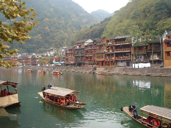Fenghuang County, China: 吊脚楼