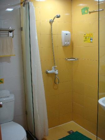 Home Inn (Chengdu Wuhou Avenue) : 淋浴房还是可以的
