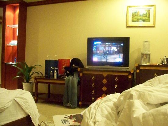 Jingdu Business Hotel : 很宽敞豪华舒适的标准间