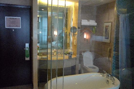 Poly Hotel Wuhan: 卫生间