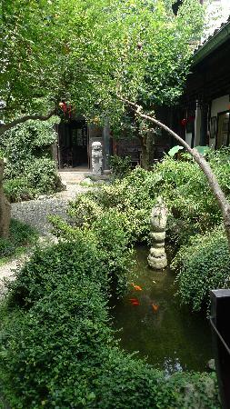 Liuyinlu Hostel: 留荫庐前院