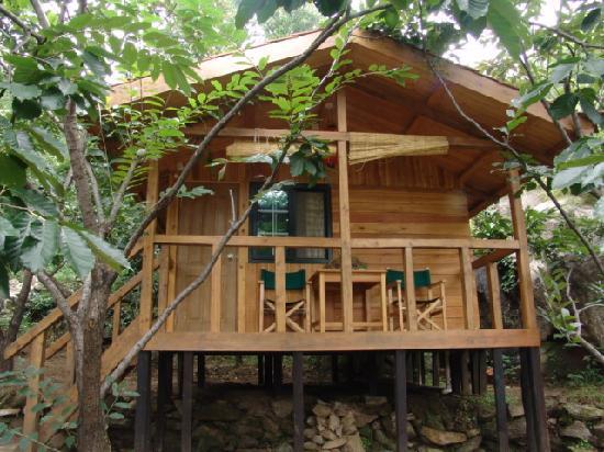 Huairou Mountain Bar : 小木屋