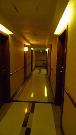 Zhongyang Business Hotel: 过道