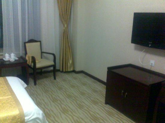 Suqian Zhong Shan Scenery Hotel: 舒适宽敞的房间2