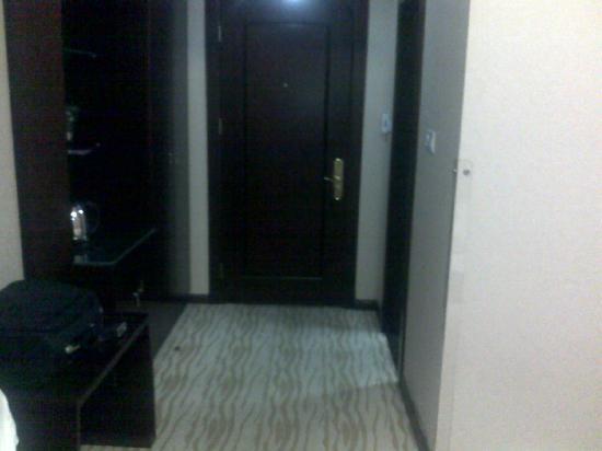 Suqian Zhong Shan Scenery Hotel: 房间过道