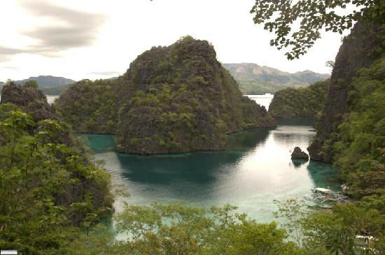 Coron Bay: kanyangan lake