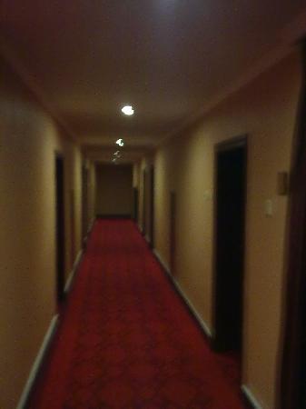 Minzu Hotel: 干净的过道