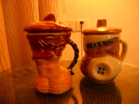 Zhuxi Guli Resort : 有趣的茶杯