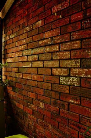 Negeri Melaka, Malaysia: 个性的签名墙