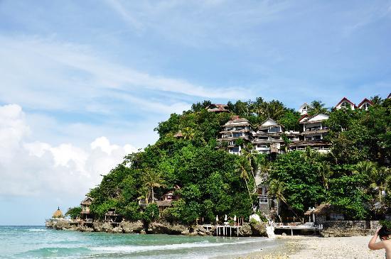 Boracay, Philippines: 著名的NAMI,在山上,有岛上唯一的电梯,很有特色,服务一级棒