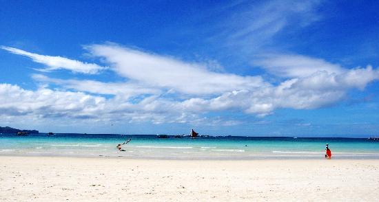 Boracay, Philippines: 无敌海景