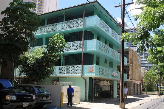 Hostelling International Waikiki: 门口