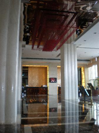 Taizhou, Cina: 结账大堂,号称台州最好的酒店之一