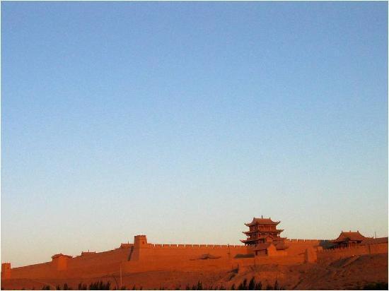 Jiayuguan, จีน: 远观