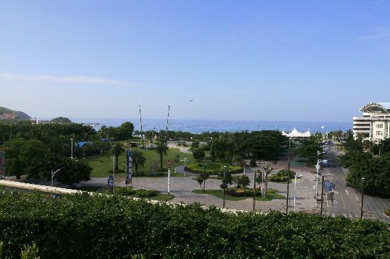 Linda Seaview Hotel: 从酒店眺望大东海边