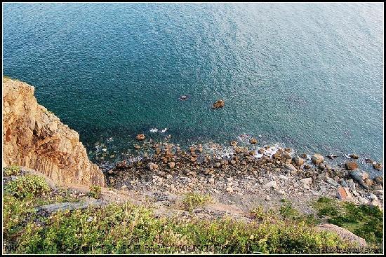 Lingshan Island: 老虎嘴那里