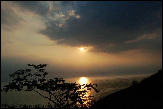 Lingshan Island: 日落
