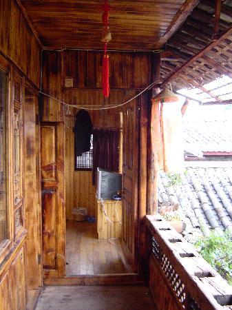 Walan Hostel: 客栈走廊