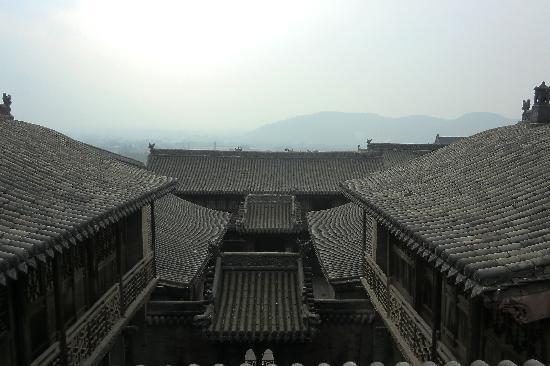 Lingshi County, Κίνα: 三进院落,尽显庄严